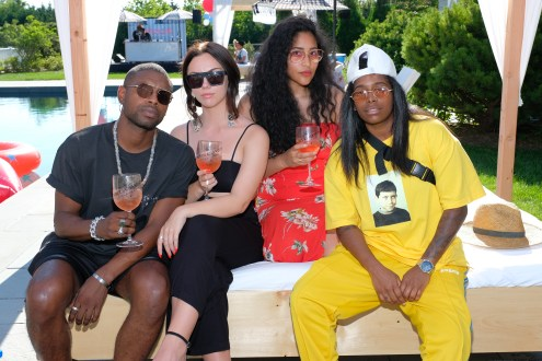 #REVOLVEintheHamptons Kicks Off 4th Of July With Moet & Chandon
