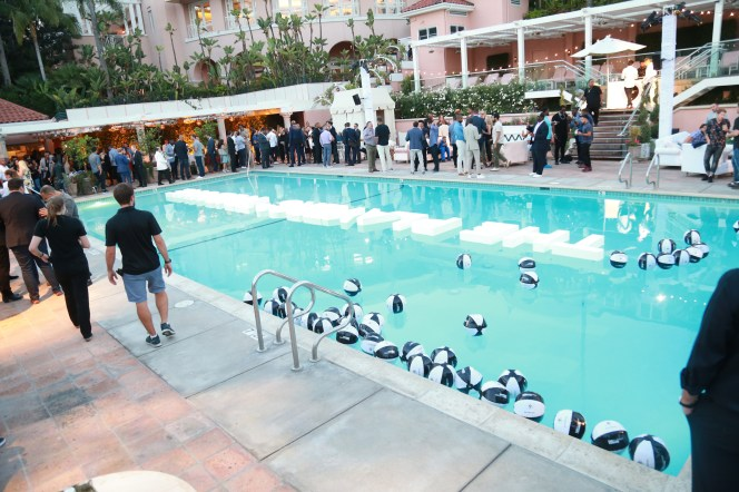 JULY 11: A general view of the atmosphere is seen at The Players' Tribune Hosts Players' Night Out 2017 at The Beverly Hills Hotel on July 11, 2017 in Beverly Hills, California. (Photo by Leon Bennett/Getty Images for The Players' Tribune )