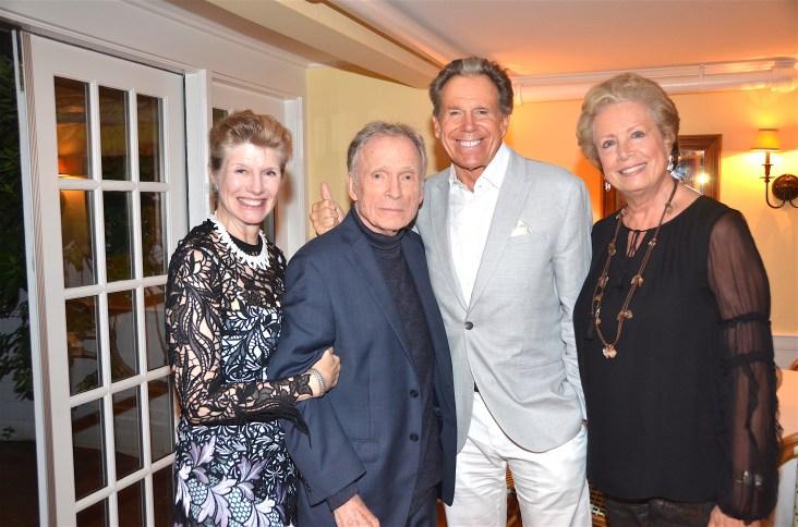 Martha Rogers, Dick Cavett, Bill Boggs Lady Jane Rothchild by Barry Gordin