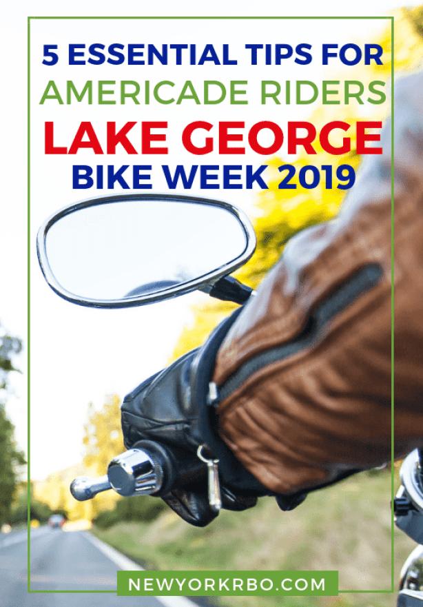 5 Essential Tips for Americade Riders - Lake George Bike Week 2018