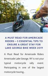Lake George Americade