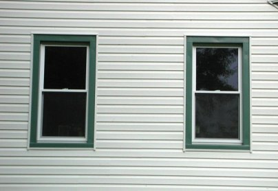After - Double Hung Windows