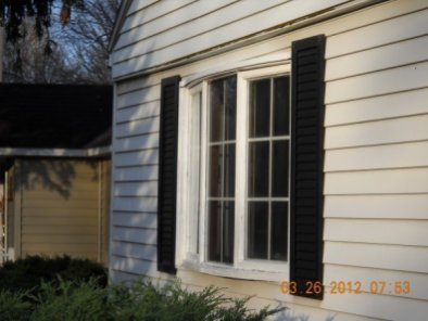 Before - Bay Window
