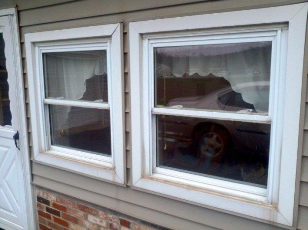 Customer Windows - Before