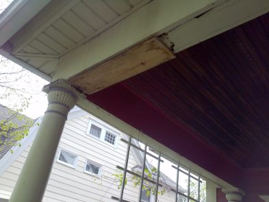 Porch Before Picture