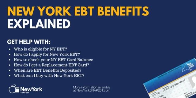"""""""EBT In New York Explained"""""""