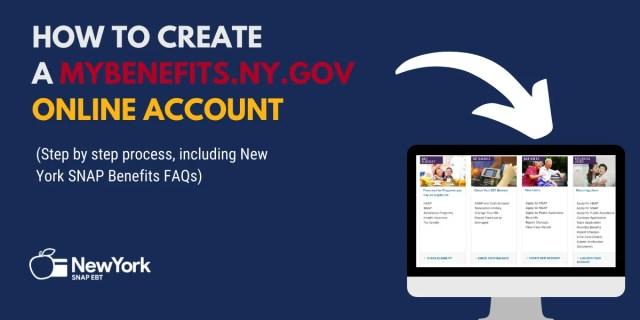 """""""How to Create a Mybenefits.ny.gov Account"""""""