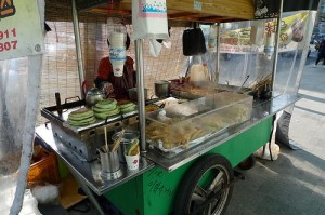 Seoul street cart