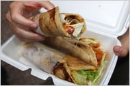 Biryani Cart kati rolls