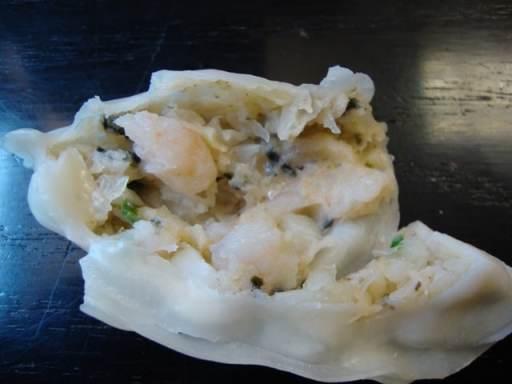 opened dumpling