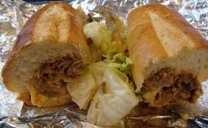 open sandwich used