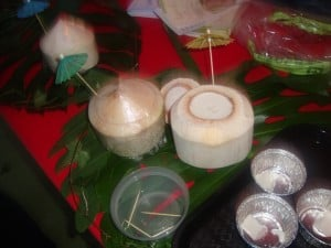 Sentosa - fresh coconut pudding