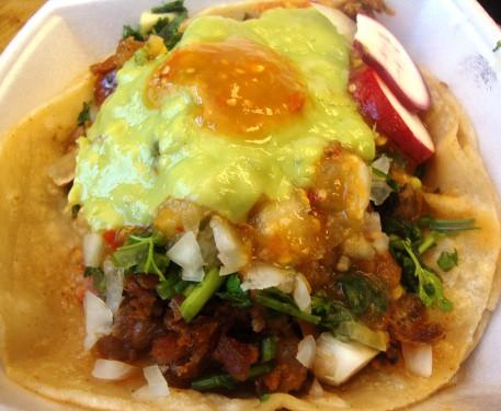 chorizo taco used