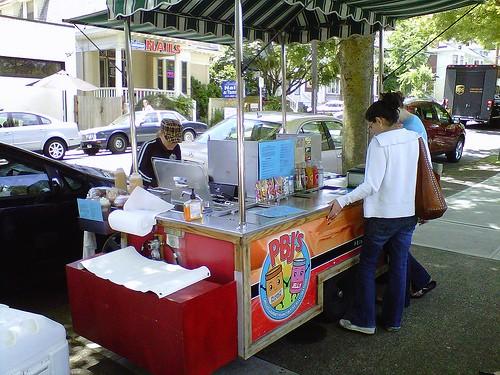 PBJ Grilled cart