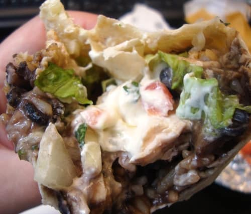 burrito eaten