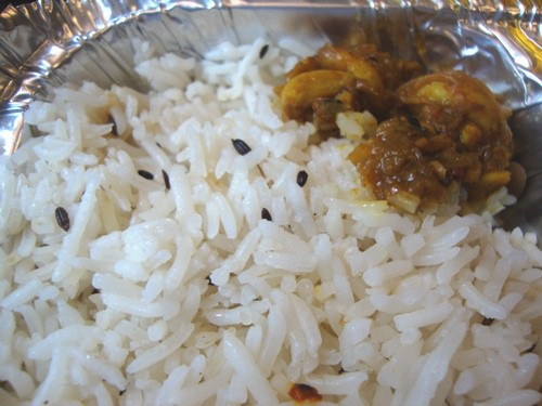 rice & garlic pickle