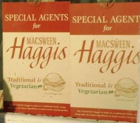 haggis stand