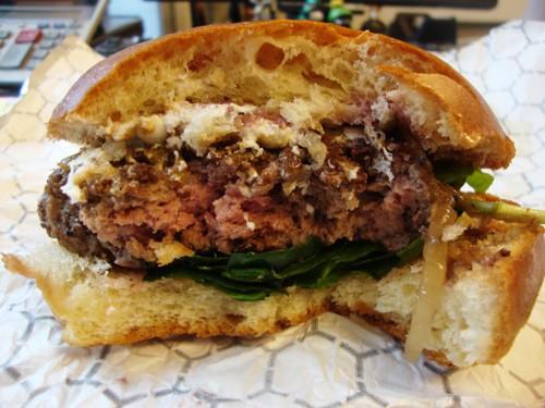 burger eaten