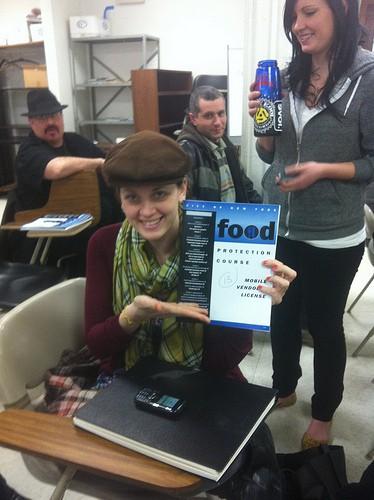 Mobile Food Vendor class