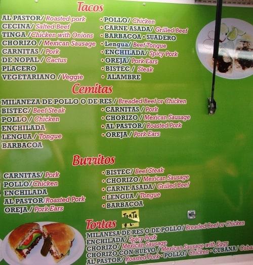 menu main