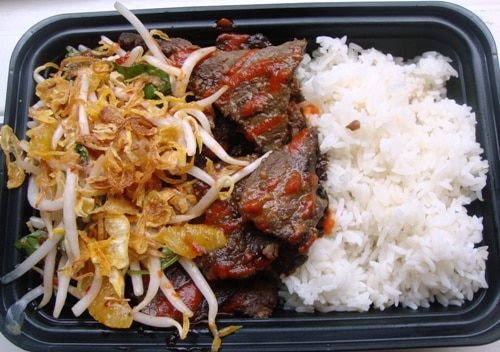 Heavenly Beef from Sweet Chili (credit: NYSF)