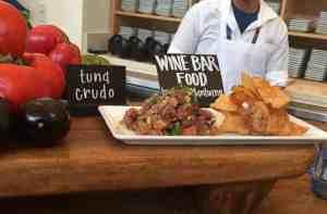 wine bar food