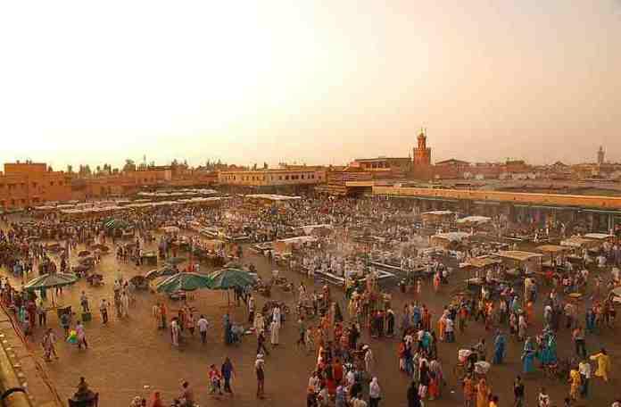 Jemaa el Fna food market