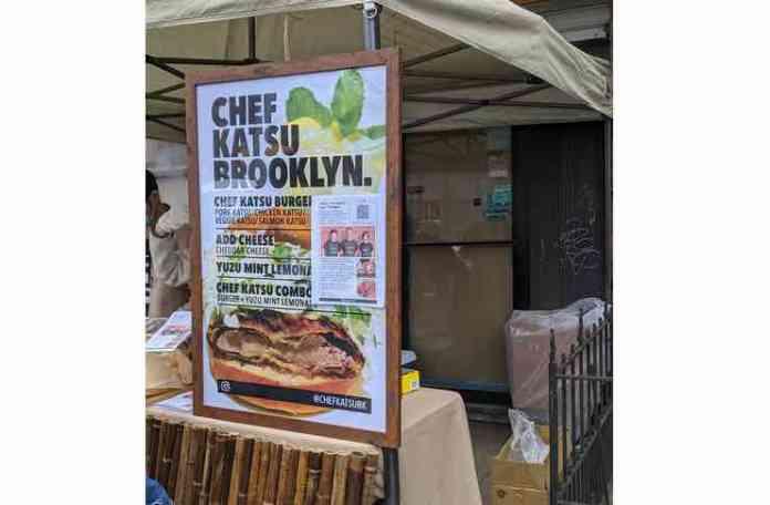Chef katsu brooklyn menu