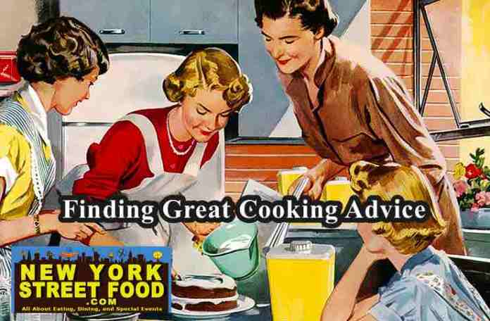 finding cooking advice