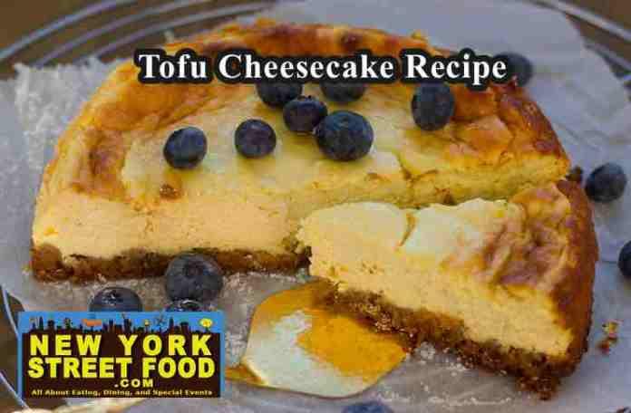 tofu cheesecake recipe
