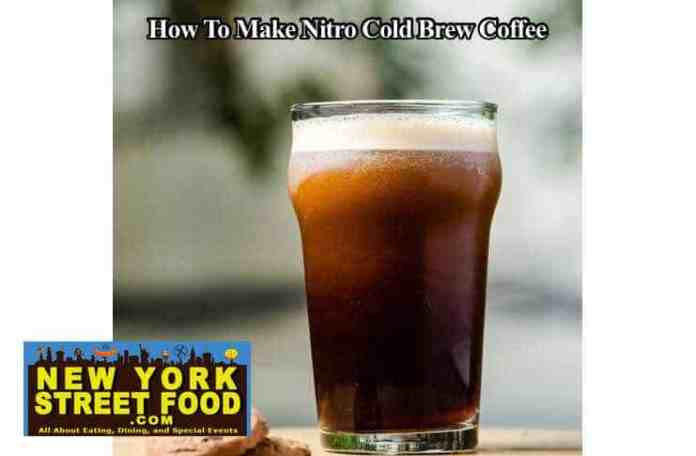 how to make nitro cold coffee