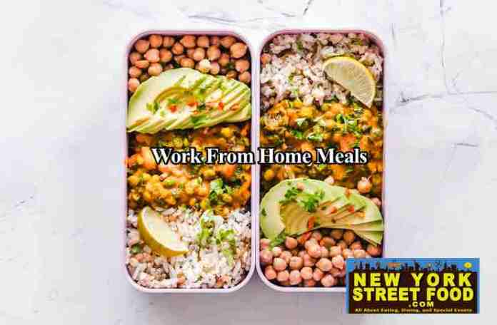 work from home meals