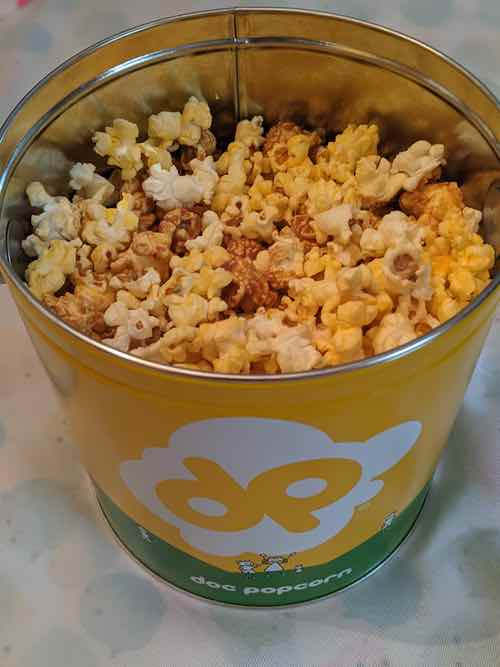 Dippin dots POPCORN CONTAINER
