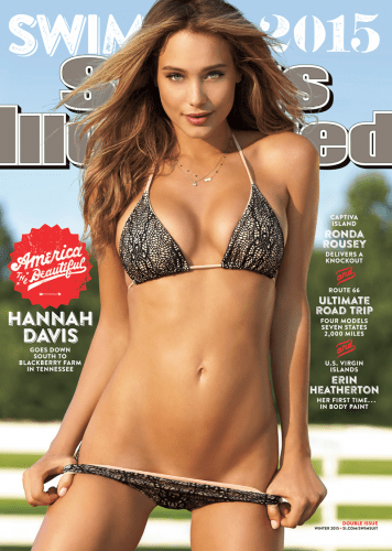Congratulations, Hannah Davis, SI Swimsuit cover model