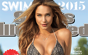 Hannah Davis makes the cover of Sports Illustrated Swimsuit Edition 2015