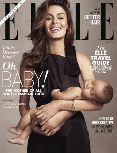 Nicole Trunfio's ELLE Australia newstand cover