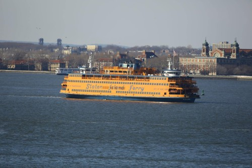 New York Style at Staten Island Ferry