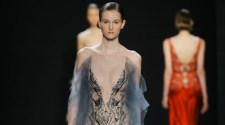 Reem Acra Runway Show at New York Fashion Week Fall Winter 2016