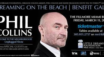 Phil Collins Little Dreams Gala