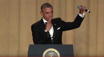 President Obama Final White House Correspondents Dinner