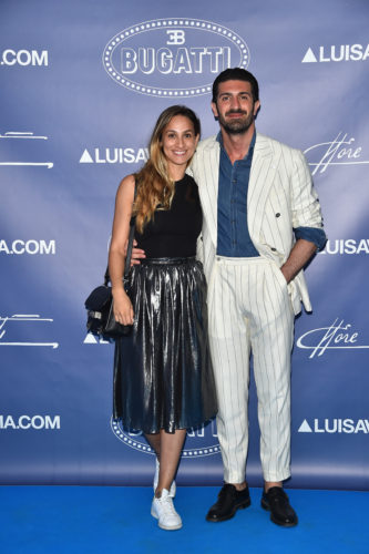 FLORENCE, ITALY - JUNE 14: Leonida Ferrarese and guest attend the 'Ettore Bugatti And LuisaViaRoma Present Ettore Bugatti's Underwater Love' at Firenze4ever 13th Edition hosted by LuisaViaRoma during Pitti 90 on June 14, 2016 in Florence, Italy. (Photo by Stefania D'Alessandro/Getty Images for LuisaViaRoma ) *** Local Caption *** Leonida Ferrarese