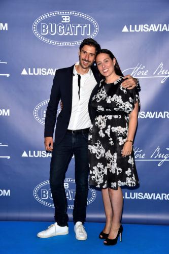 FLORENCE, ITALY - JUNE 14: Federico Oggioni and Luisa Panconesi attend the 'Ettore Bugatti And LuisaViaRoma Present Ettore Bugatti's Underwater Love' at Firenze4ever 13th Edition hosted by LuisaViaRoma during Pitti 90 on June 14, 2016 in Florence, Italy. (Photo by Stefania D'Alessandro/Getty Images for LuisaViaRoma ) *** Local Caption *** Federico Oggioni; Luisa Panconesi