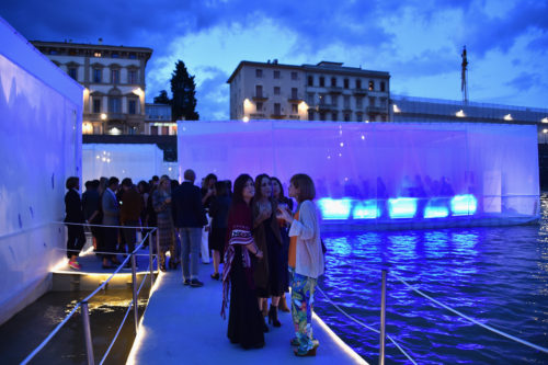 FLORENCE, ITALY - JUNE 14: A general view at the 'Ettore Bugatti And LuisaViaRoma Present Ettore Bugatti's Underwater Love' at Firenze4ever 13th Edition hosted by LuisaViaRoma during Pitti 90 on June 14, 2016 in Florence, Italy. (Photo by Stefania D'Alessandro/Getty Images for LuisaViaRoma )