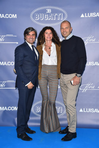 FLORENCE, ITALY - JUNE 14: Paolo Lao (R) and guests attend the 'Ettore Bugatti And LuisaViaRoma Present Ettore Bugatti's Underwater Love' at Firenze4ever 13th Edition hosted by LuisaViaRoma during Pitti 90 on June 14, 2016 in Florence, Italy. (Photo by Stefania D'Alessandro/Getty Images for LuisaViaRoma ) *** Local Caption *** Paolo Lao