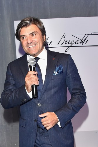 FLORENCE, ITALY - JUNE 14: Massimiliano Ferrari attends the 'Ettore Bugatti And LuisaViaRoma Present Ettore Bugatti's Underwater Love' at Firenze4ever 13th Edition hosted by LuisaViaRoma during Pitti 90 on June 14, 2016 in Florence, Italy. (Photo by Stefania D'Alessandro/Getty Images for LuisaViaRoma ) *** Local Caption *** Massimiliano Ferrari