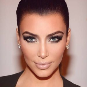 Kim Kardashian Blue Eyes