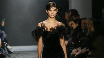 Sara Sampaio for Marchesa