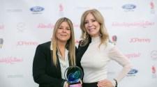 Unstoppable Latinas Award Leadership Carolina Santamarina Lynn Ponder