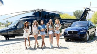 Victoria's Secret Angels Celebrate the Sexy Little Things Launch at the Angel Oasis - Inside April 14