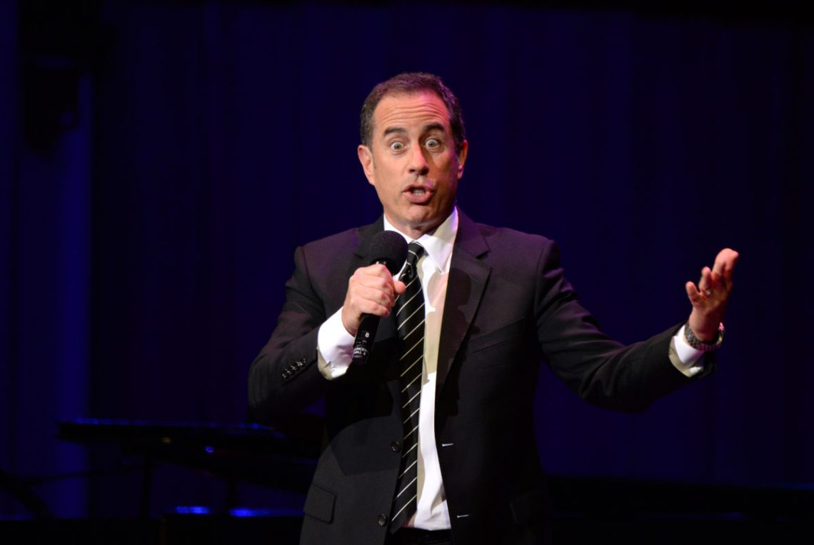 Jerry Seinfeld at Daivid Lynch Foundation National Night of Laughter and Song